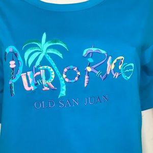🌴 Vintage 90s deadstock Puerto Rico shirt 🌴